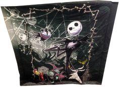 Nightmare Before Christmas Full / Queen Comforter with Jack Skellington Lock Shock and Barrel: Amazon.ca: Home & Kitchen