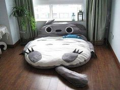 Totoro bed <3