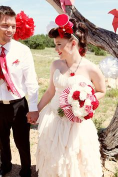 The Peppermint Pretty - Novias de estilo pinup