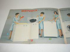 ( l - 290 ) propaganda antiga máquina de lavar bendix??