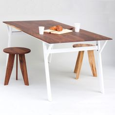 White Wabi Table | Sean Woolsey