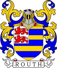 Routh Family Crest and Coat of Arms