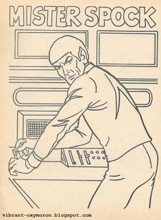 star trek coloring pages star trek color and activity books 1978 - Star Trek Coloring Book