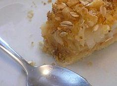 Un crumble, c'est parfois tarte (sans gluten, sans produits laitiers, sans oeufs)