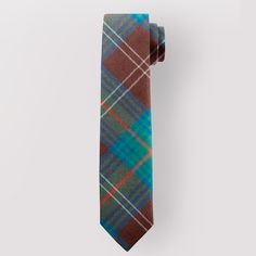 Pure wool tartan  tie  - Made in Scotland, available from ScotClans