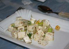Domácí balkánský sýr recept - TopRecepty.cz International Recipes, Feta, Potato Salad, Dairy, Food And Drink, Cheese, Homemade, Cooking, Ethnic Recipes