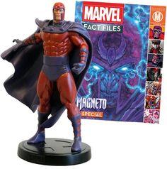 Marvel Magneto Large Figurine | Marvel Factfiles | Eaglemoss Collections