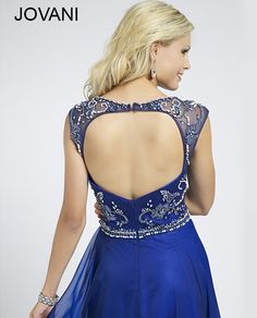 Jovani Royal Prom Dress 78146 - Prom Dresses