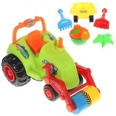 6 PCS Truck Sand Bucket Beach Toy Set for Kids- aaron would love:)