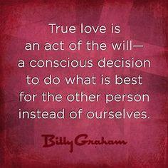 Billy Graham on True Love