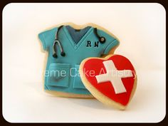 Nurse and heart- i thought this was so cute for all of the wonderful nurses fixing to graduate
