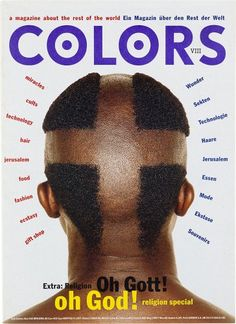 "cMag117 - Colors Magazine cover ""Religion Issue"" / Tibor Kalman / Nº 8 / September 1994"