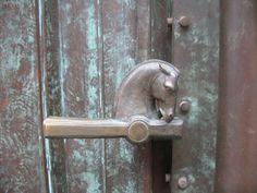 Door handle #doorhandle #horse