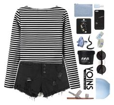 """☾ yoins 02"" by thundxrstorms ❤ liked on Polyvore featuring Laura Mercier, Topshop, Miss Selfridge, Rosenthal, Essie, Chicnova Fashion, DestinyHasBeenSummoned, MeenaGotTagged and gottatagrandomn3ss"