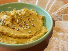 Moroccan Pumpkin Hummus from the cookbook Quick-Fix Vegan