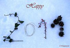 Back tu Nature with beautiful season's greetings!  Ganz natürlich: Weihnachtskarten und Neujahrsgrüße
