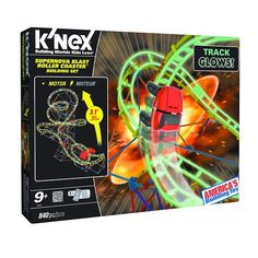 3-foot tall glow in the dark roller coaster… need we say more?!!!  #kids #toys…