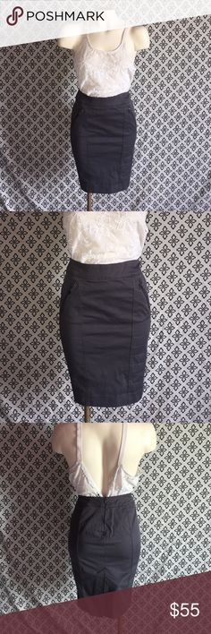 Zara Military Skirt This is an adorable little skirt. The zippers and side panels add a little extra attitude to any outfit. Zara Skirts Pencil