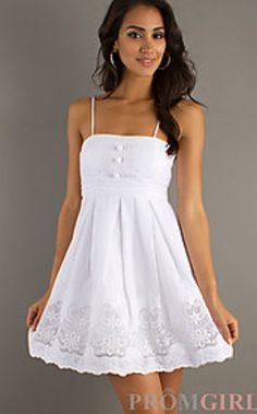 Maybe this as a prom dress? Hmm