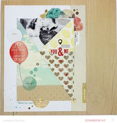 #papercraft #scrapbook #layout  Timeless by lory at @Studio_Calico
