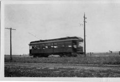 Rockford Interurban Trolley Car, North Second Street :: Images of Loves Park, Machesney Park and Roscoe