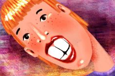 All about taking care of your teeth. (BTW Scary illustrations!)