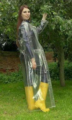 Raincoats For Women Christmas Gifts Clear Raincoat, Vinyl Raincoat, Pvc Raincoat, Plastic Raincoat, Yellow Raincoat, Plastic Pants, Hooded Raincoat, Imper Pvc, Rain Bonnet