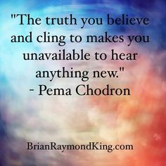 So true. We see what we wanna see, sometimes because it's easier to believe lies than accept the truth.