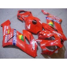 Honda CBR1000RR 2004-2005 Injection ABS Fairing - Lee - Red | $639.00