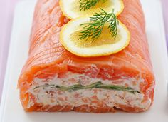 Best long slices smoked salmon recipe on pinterest for Smoked salmon roulade canape