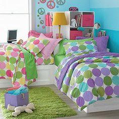 purple polka dot bedding - Google Search
