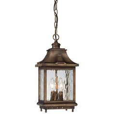 """MINKA LAVERY Wilshire Park 16"""" High Bronze Outdoor Hanging Light  $179 + AN EXTRA 15% OFF AT CHECKOUT - USE PROMO CODE: HELLOFALL19 FREE SHIPPING OR PICK UP - WEBSITE: GlowOnSunset.Net"""
