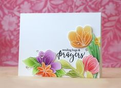 Laura Bassen joins the Simon Says Stamp blog for another awesome feature! Sending hugs and prayers!