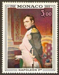 Monaco 1969 3f Napoleon Portrait.