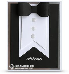 stmapin up tuxedo card