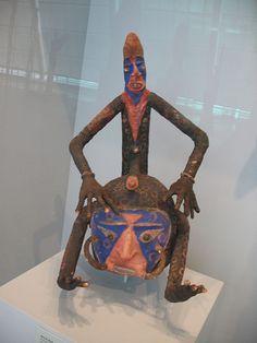 WLA metmuseum Helmet Mask Temes Mbalmbal Mid 20th century Vanuatu. Vanuatu, Tribal Art, Scary, Helmet, Sculptures, Asia, Batman, Ocean, America