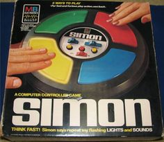 MILTON BRADLEY: 1978 SIMON Game #Vintage #Games