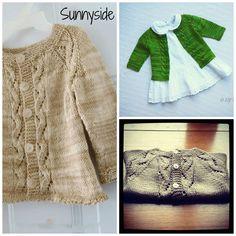 Free knitting patterns- baby sweaters