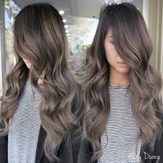 "Lily Duong Colorist (@hairbylily408) on Instagram: ""Love! Ombré balayage conversion from balayage highlights. @vmyxv #behindthechair #hairbylily408…"""