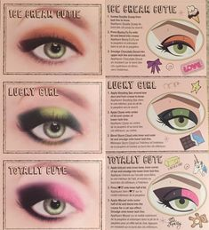 Too Faced Totally Cute Makeup Card Makeup 101, Beauty Makeup Tips, Cute Makeup, Makeup Inspo, Beauty Hacks, Beauty Products, School Looks, Too Faced Totally Cute, Winged Eyeliner Tutorial