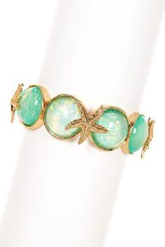 Starfish Spectacle Bracelet by Olivia Welles on @HauteLook