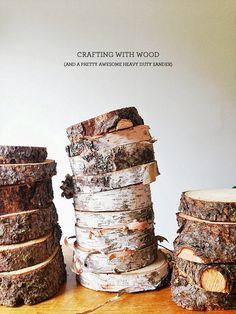 Wood Slices + Sanders