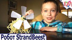 Wind powered robot StrandBeest @ RM Bros