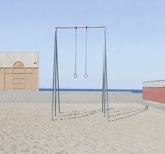 Beach Swing Set #coopslondon #coopsworld