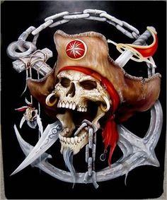 75 Mejores Imágenes De Calaveras Piratas Skulls Pirate Skull Y