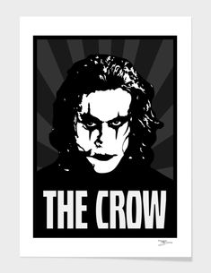 Discover «[BGW] The Crow Grey», Exclusive Edition Fine Art Print by Beegeedoubleyou - From 29€ - Curioos  #popart #alcapone #producer #joker #bobmarley #curioos #blackandwhite #mancave #pabloescobar #tonymontana #awesome #doncorleone #propaganda #displate #thegodfather #inspiration #displates #redbubble #posters #hiphop #swagg #motivation #creative #fanart #design #illustrator #vectorart #black #worldstar #anonymous #drdre #scarface #thecrow #gangsta #johndillinger #streetart