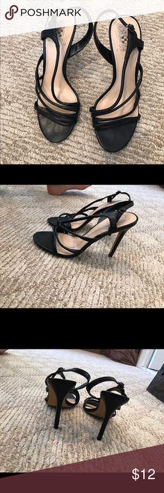 Vince Camuto women's shoes Black strapy sandal hardly worn! Vince Camuto Shoes Sandals
