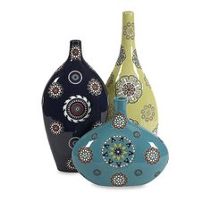 Peyton Handpainted Vases