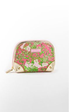 """This is my present makeup bag : """"zippity-do make-up bag""""- ugh, cute product names get me every time"""