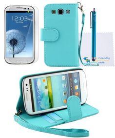 The Friendly Swede (TM) 2 in 1 PU Leather Folio Stand Wallet Case for Samsung Galaxy S3 S III i9300 + Stylus + Screen Protector + Cleaning Cloth in Retail Packaging (Blue) by The Friendly Swede, http://www.amazon.com/dp/B00CSI98HS/ref=cm_sw_r_pi_dp_7dcasb1T53YTG